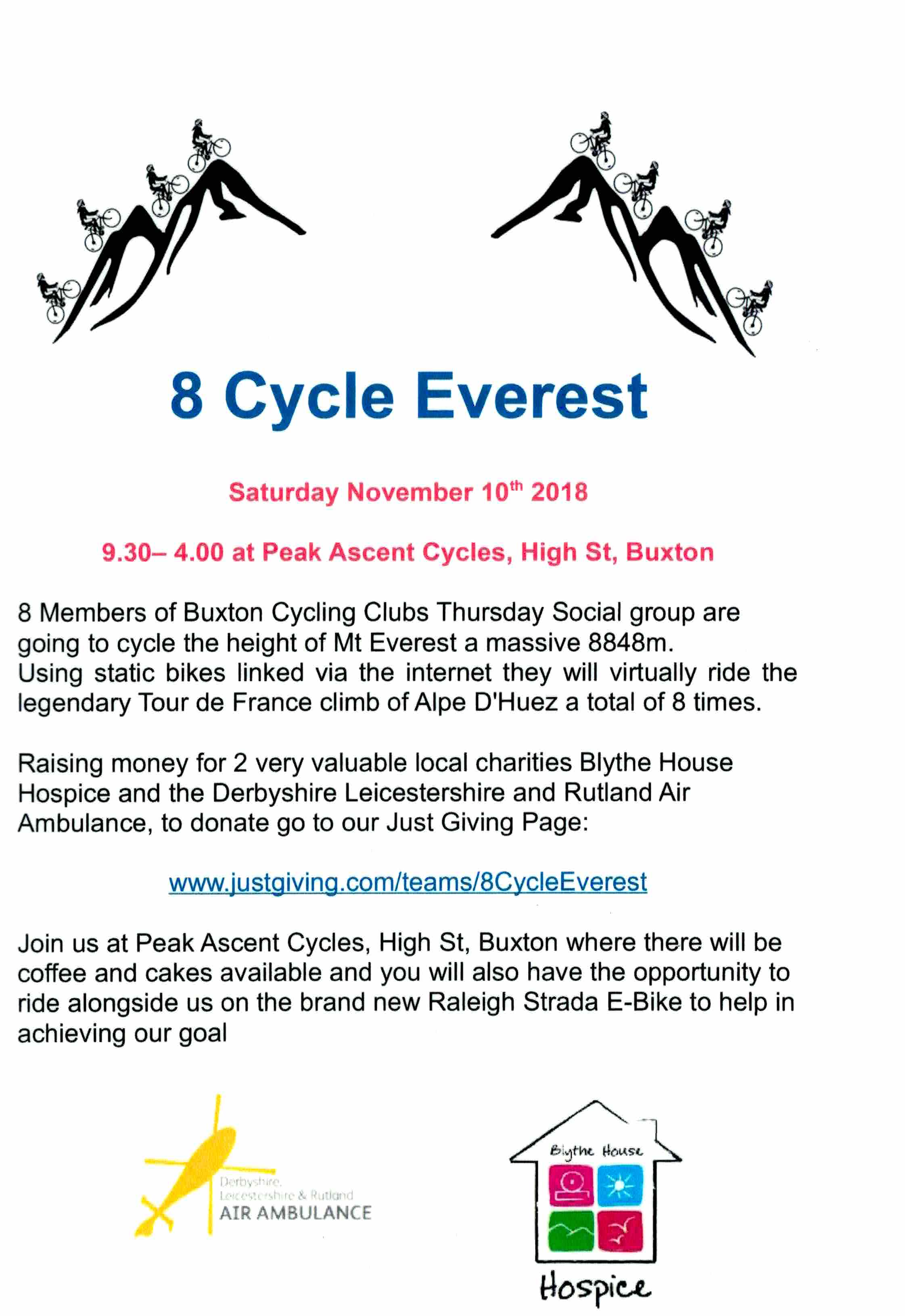 8 Cycle Everest