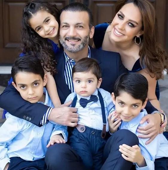 Shally Zomorodi Family