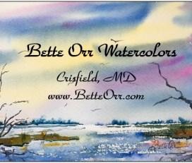 Bette Orr, Artist