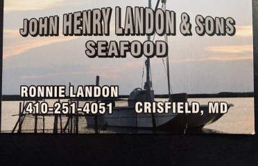 John Henry Landon & Son seafood