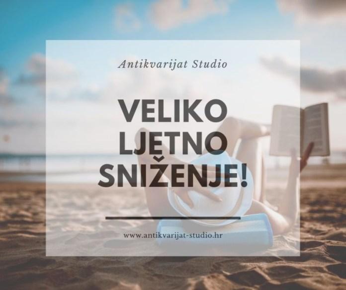 Antikvarijat Studio: Veliko ljetno sniženje!