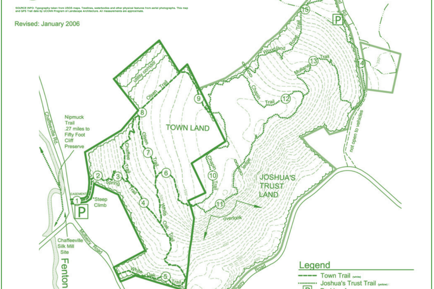 Coney Rock Trail Map
