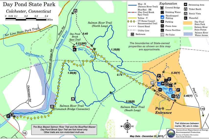 Day Pond Trail Map