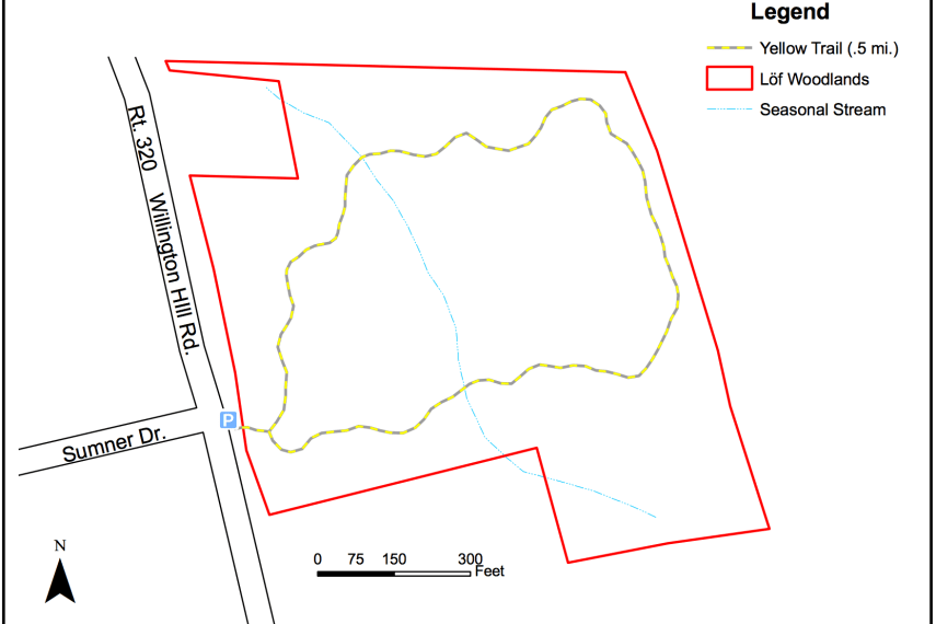 Lof Woodlands Trail Map