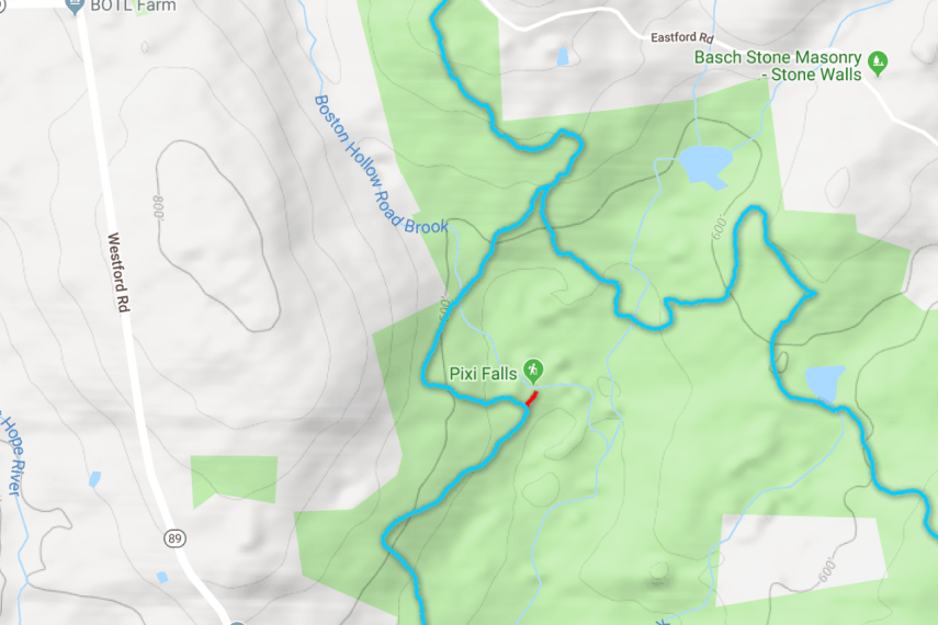 Nipmuck Iron Mine Trail Map