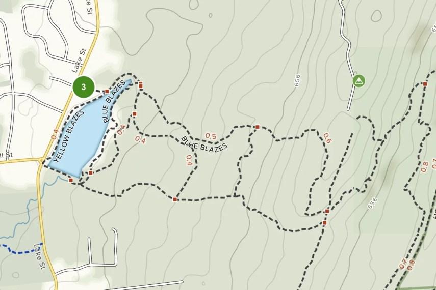 Risley Park Trail Map