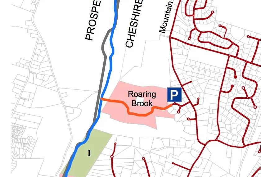Roaring Brook Trail Map