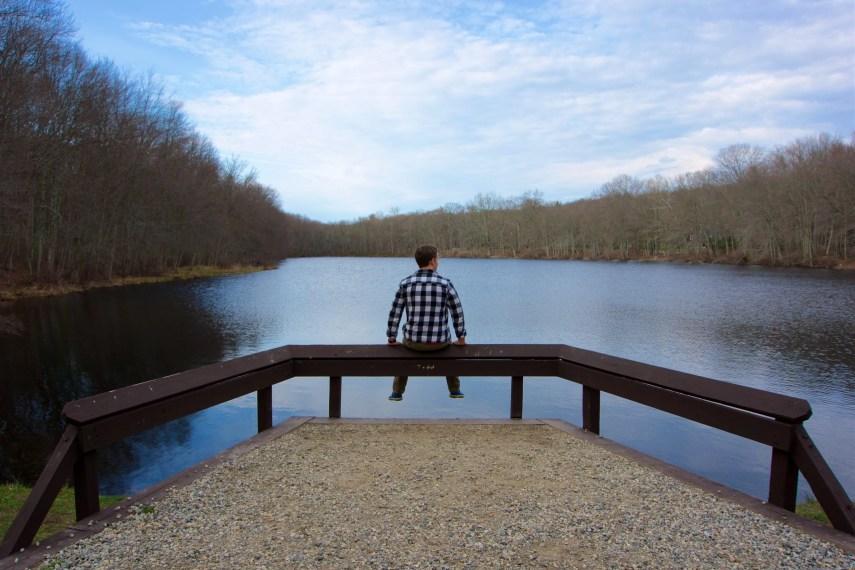 Beaver Brook Fishing Platform