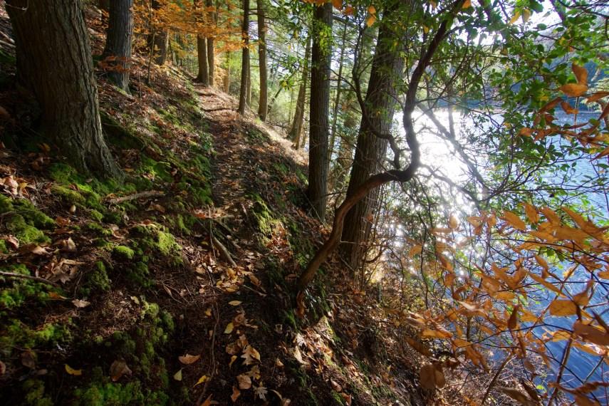 Machimoodus Unblazed Trail