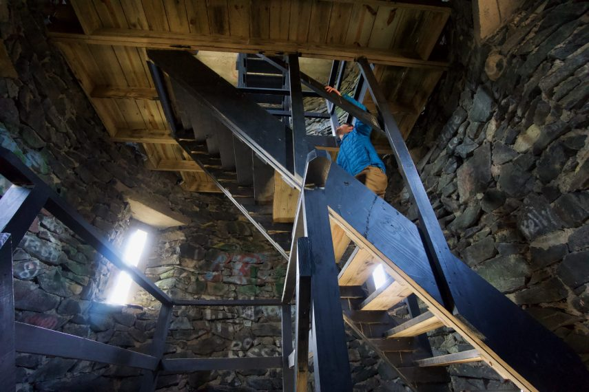 Mount Tom Tower Stairs