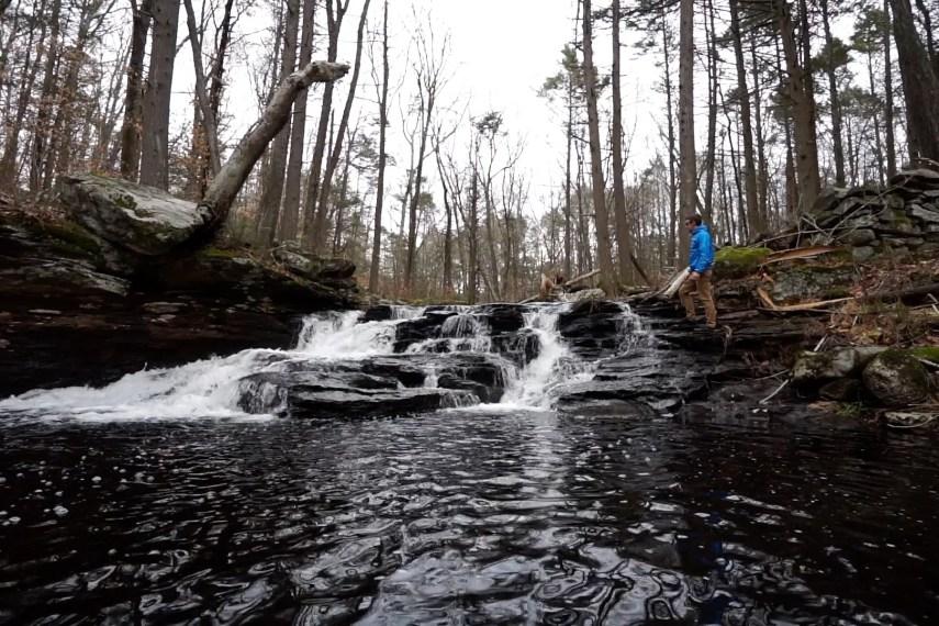 Sheepskin Hollow Falls
