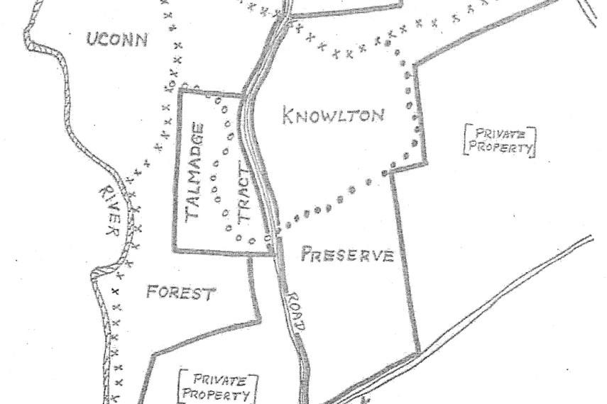 Talmadge Knowlton Trail Map