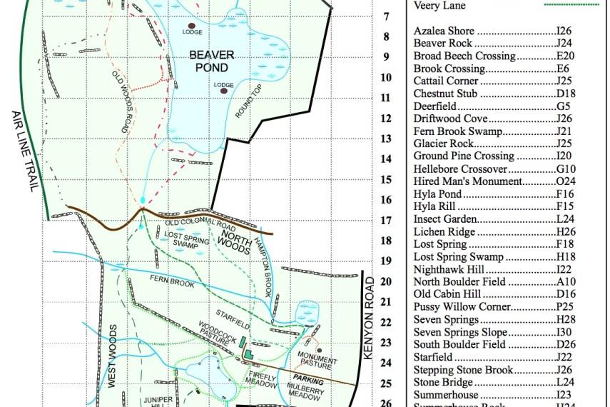 Trailwood Trail Map