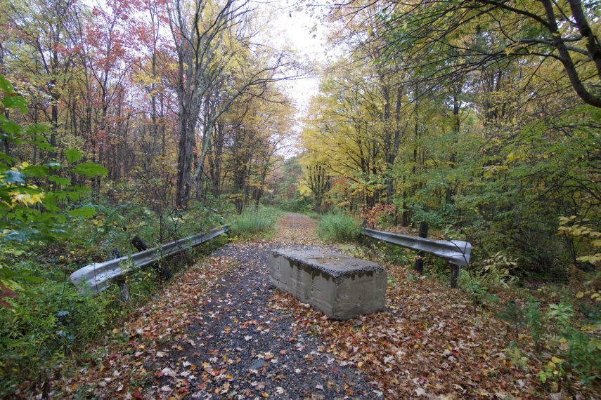 Enders Falls State Forest Trail