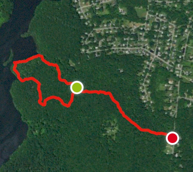 Poquetanuck Cove Preserve Trail Map