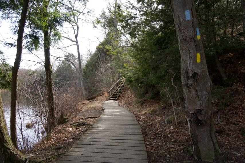 Valley Falls Boardwalk