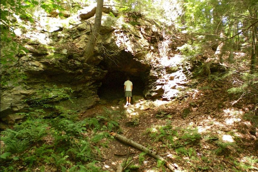 Talcott Ravine Cave