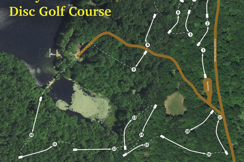 Crystal Pond Disc Golf Course