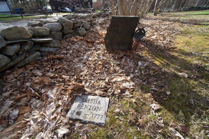 Elisha Benton Grave