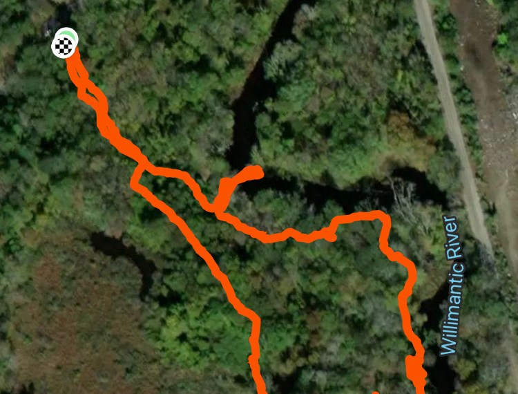 Schmid Overlook Trail Map