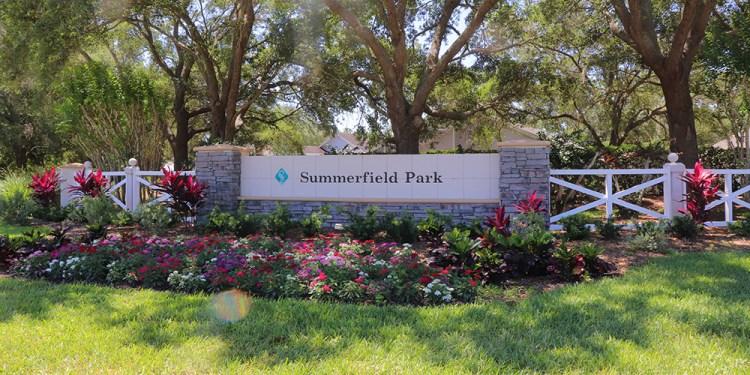 Summerfield Village Lakewood Ranch Entrance