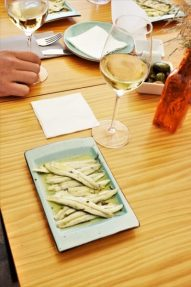 Boquerones in vinegar tapa paired with a Sherry