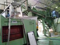 Maquinaria para procesar las uvas palomino y moscatel y prensar para conseguir vino en chiclana de la frontera