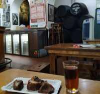 Tabanco San Pablo Amontillado Sherry chicharron Jerez de la Frontera Cadiz