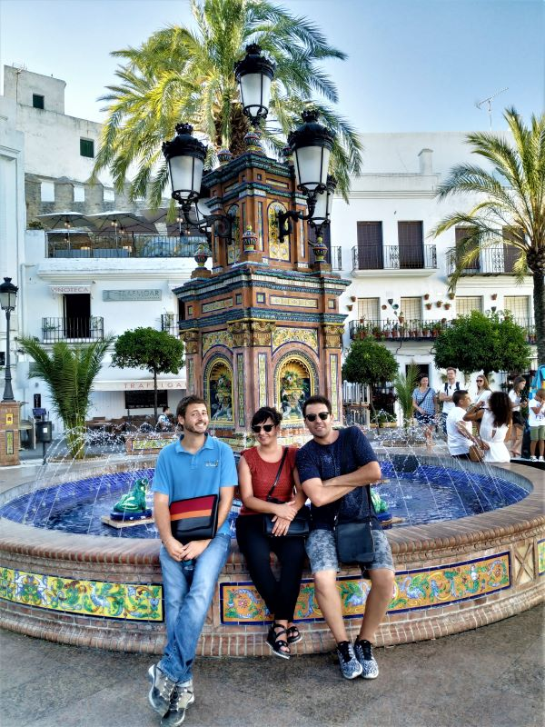 Romantic tour in Vejer plaza de españa