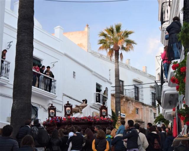 Easter in Vejer de la Frontera convent
