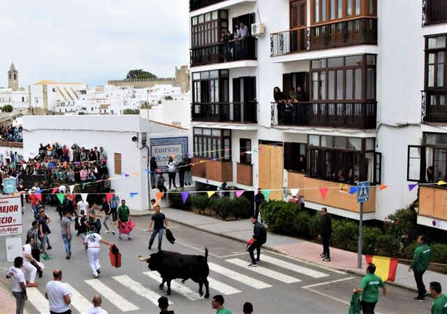 Toro embolao sunday resurrection events festivals Vejer de la Frontera Easter