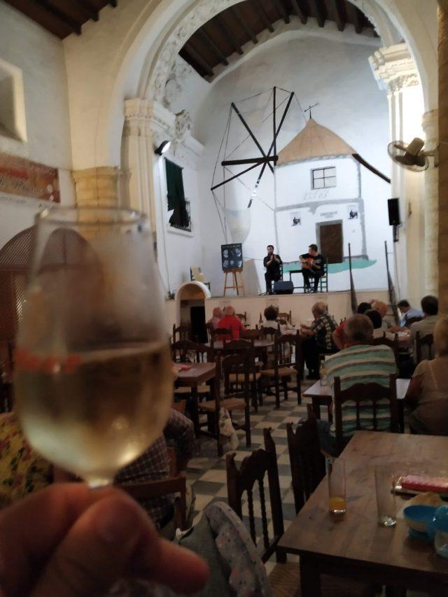 Competición cante flamenco en Vejer de la Frontera Cádiz