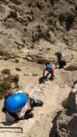 Tour operators in Spain, vías Ferratas en alicante