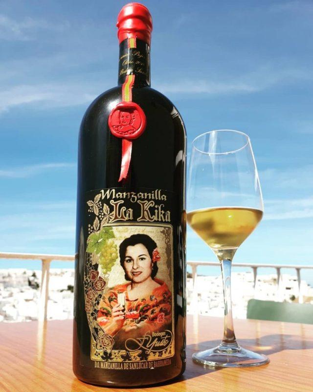 Mejor vino manzanilla la Kika en el mundo