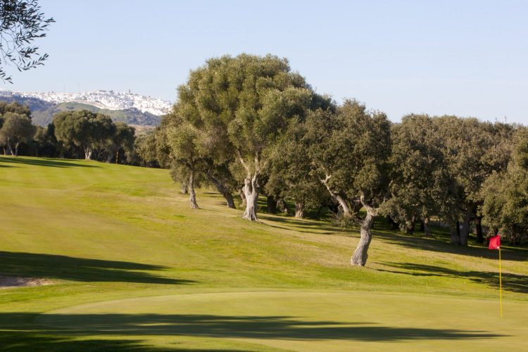 Golf montenmedio views of Vejer de la Frontera