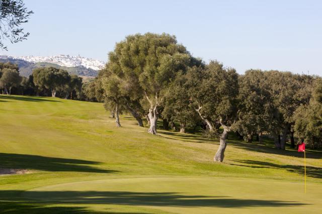 Golf montenmedio views of Vejer de la Frontera