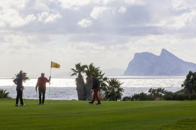 Cadiz golf courses with views of Gibraltar
