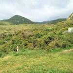 Ruta senderismo en El estrecho natural park en Cadiz provincia desde Tarifa a Algeciras