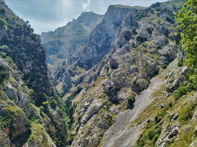 Cares hike ruta in Asturias Spain