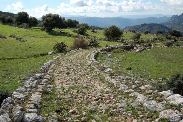hiking holiday in Spain Roman road Ubrique Grazalema natural park Cadiz