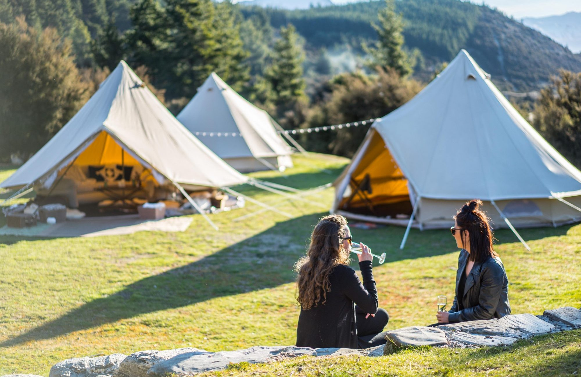 glamping events South Island NZ