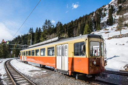 Die Grütschalp Bahn