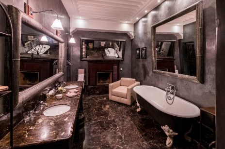 Ein unheimlich grosses Badezimmer versüsste uns den Morgen