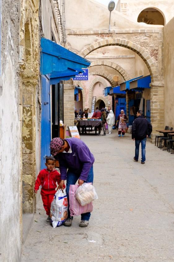 Typische Szene aus Essaouira