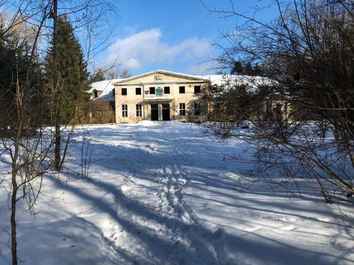 abandoned Garrison Officer's House