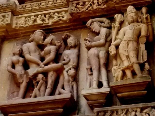 erotic sculptures at Khajuraho 5