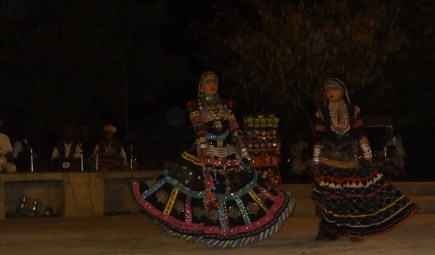 Dance at Desert camp Jaisalmer
