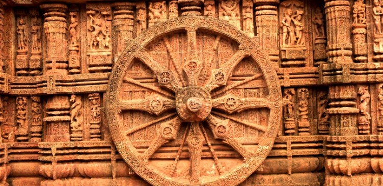 Sculptures at Konark Sun Temple