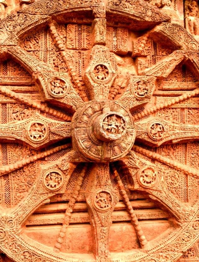 beautiful carving Konark