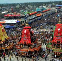 when Puri car festival held